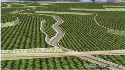 空间农业三维规划应用平台