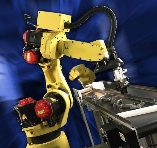 工业常用的自动化喷漆机器人