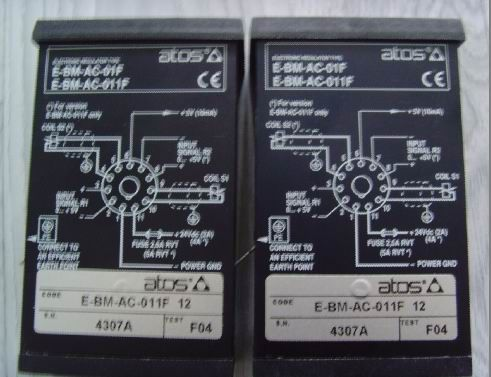 上海宓泰出售阿托斯放大器E-ME-T-05H/I 40/DK17