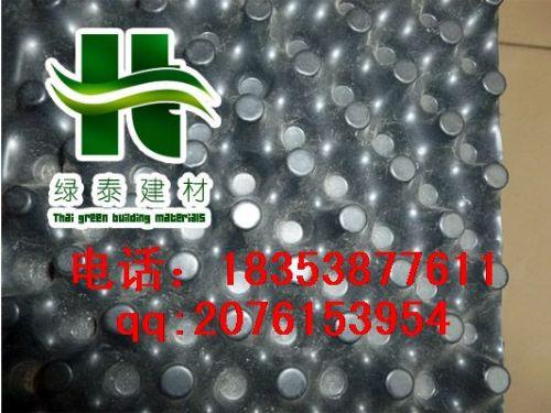 盘锦塑料凸片排水板|HDPE防水卷材沈阳地下室排水板|防渗