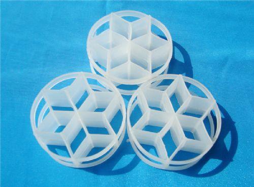 塑料六菱形环