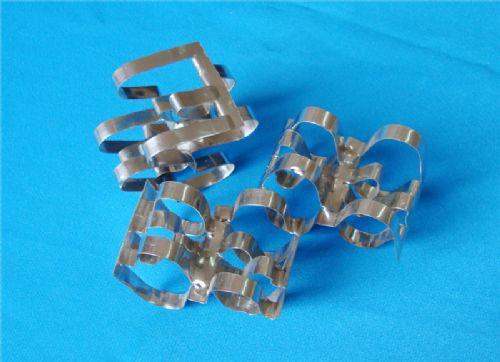 金属双弧环