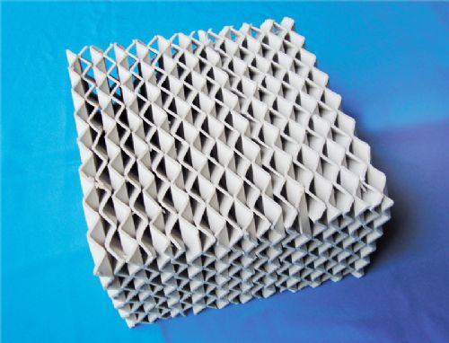 陶瓷高效波纹填料