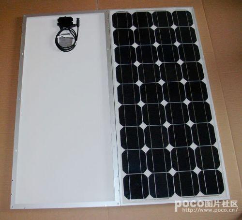 供应120W的单晶硅太阳能路灯组件