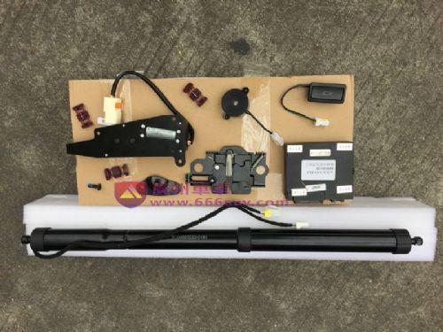 奥迪A4电动尾门,奥迪A4遥控后备箱改装