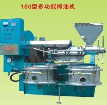 三门市螺旋榨油机设备回油的解决方法HD华达机械