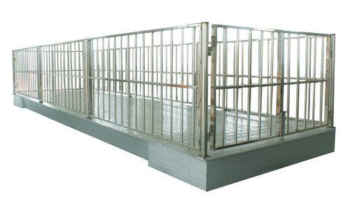 厂家直销碳钢带栏动物地上衡
