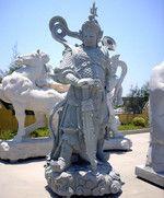 石雕东方人物雕像