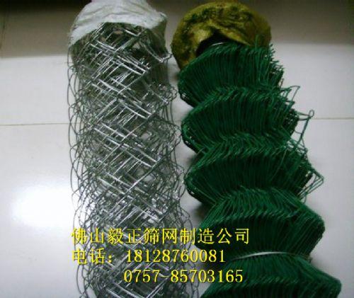 广东佛山南海PVC勾花铁丝护栏网厂家