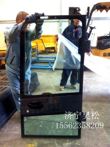 PC56-7挖掘机驾驶室门总成小松门总成