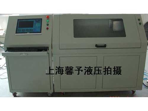 安徽供应 汽车软管水压试验台 制动软管测试台厂家高清图片