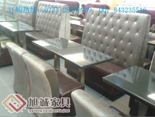 特色港式茶餐厅桌椅厂家深圳旭诚餐厅家具