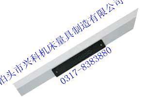 镁铝合金刀口尺主要用于检测平板、平尺、机床工作台、导轨和精密工件