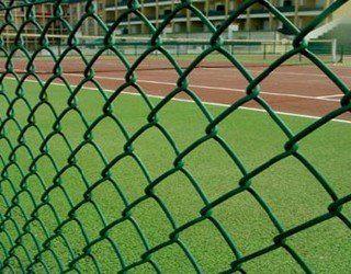 专业批发 浸塑铁丝网 镀锌勾花网 球场勾花网规格齐全