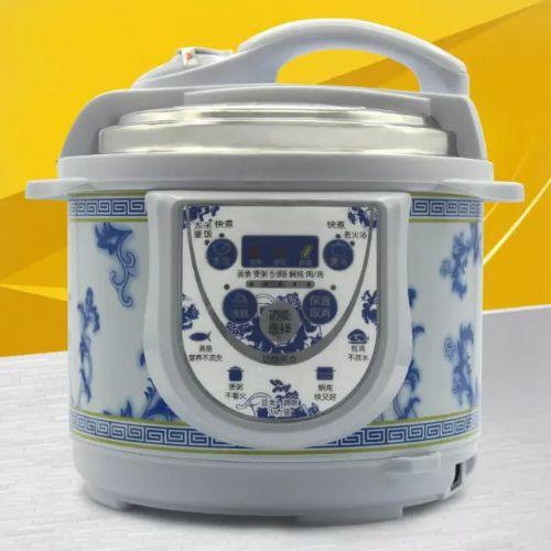 厂家批发价格便宜红半球电压力锅,供应批舞台礼品下乡青花瓷电压力锅