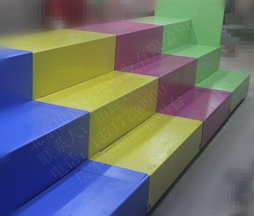 三层彩色伸缩合唱台 小学生合唱台