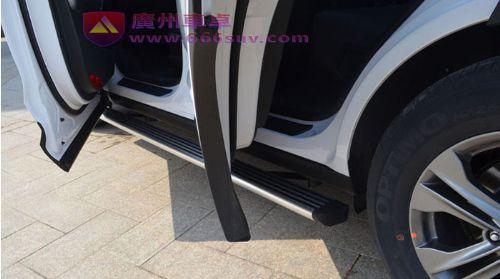 广汽传祺GS4电动踏板,传祺GS4伸缩踏板高清图片