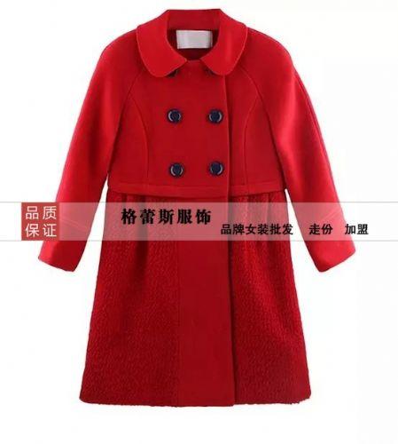 深圳欧时力超低0.5折起供货呢大衣量大从优供应