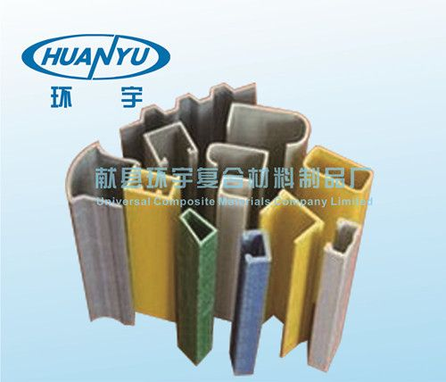 U型玻璃纤维型材