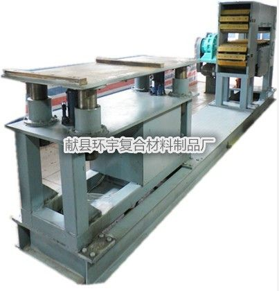 供应玻璃钢拉挤型材生产线、高性能、低能耗