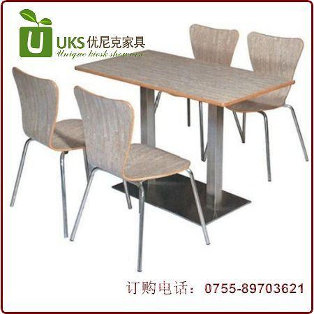 深圳高品质快餐桌椅定做专业工厂直销