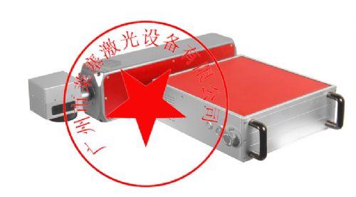米老头食品包装生产日期激光喷码机 条形码打码机