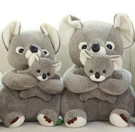 定做2015款koala考拉公仔树袋熊卡通毛绒玩具