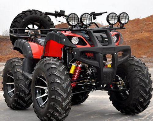 新款促销125-250CC沙滩车 四轮越野车 大公牛轴传动摩托车