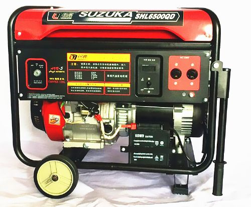鸡西家用5KW汽油发电机