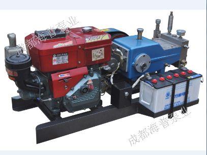 四川柴油机驱动高压泵,车载柴油机试压泵,撬装式试压泵