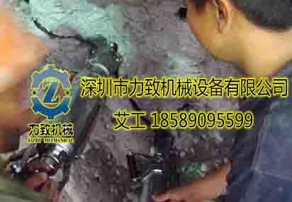 云母矿替代炸药开采设备取代风镐机械