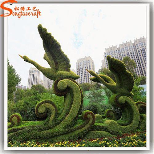 广州厂家绿雕设计与制作 动物雕塑 植物雕塑