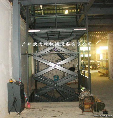 深圳仓库专用固定式升降货梯