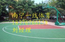上林塑胶篮球场铺设,南宁硅PU篮球场价格