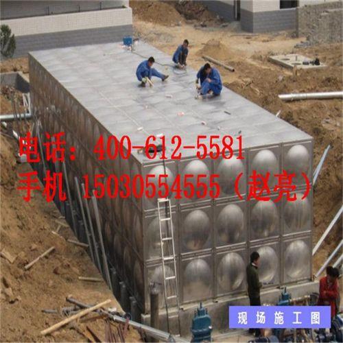 厂家供应方形圆形保温不锈钢水箱 可定制
