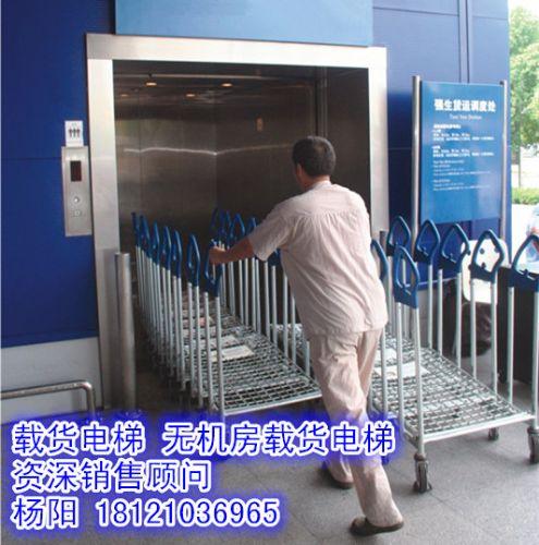 无机房载货电梯,大吨位载货电梯载货电梯采用全电脑