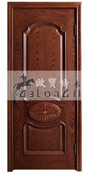 安徽滁州开放木皮镶花烤漆门厂家提供三维视觉