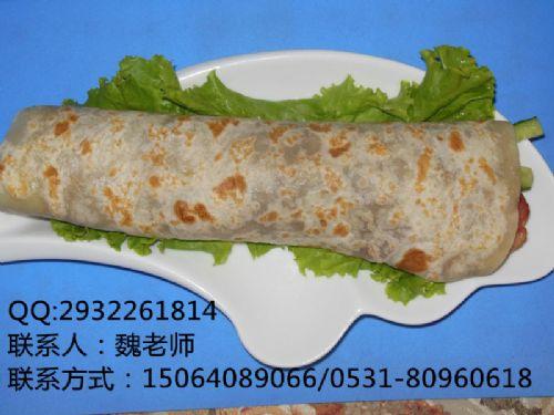 老北京鸡肉卷制作去哪学习济南香香姐小吃培训学习
