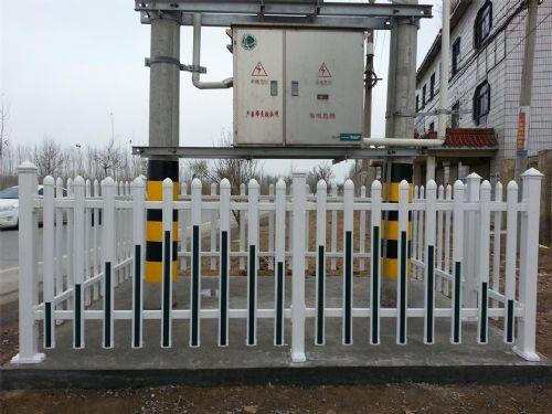 新型环保电力塑钢围栏 箱变围栏