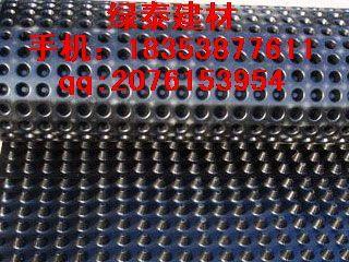 舟山地下车库种植滤水板%抗撕裂温州3公分排水板价格%卷材铺设