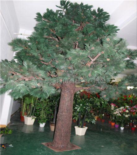 厂家定做仿真松树 古松树 迎客松 罗汉松 松树盆栽