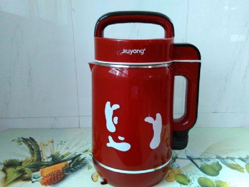 新款中国红豆浆机底盘加热全钢机头豆浆机 会销豆浆机
