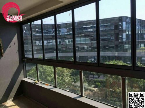 深圳无框阳台窗折叠窗可定制