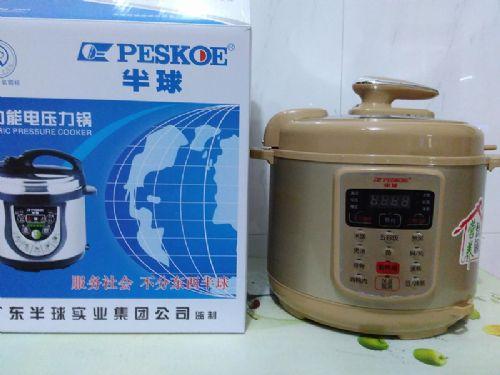 顺德厂家批发土豪金款半球5L电压力锅支持无水炖