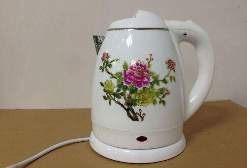加热变色水壶厂价直销1.5升托玛琳石养生壶 会销礼品