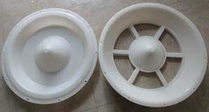 小猪圆盘补料槽模具,仔猪圆形料槽模具,双胞胎圆形猪槽模具