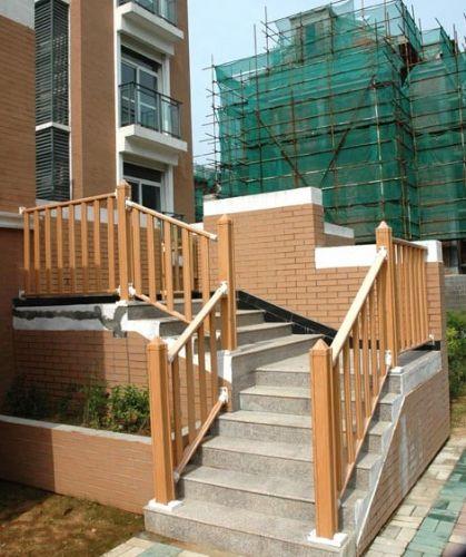 PVC塑钢护栏——防木纹,小区、庭院适用