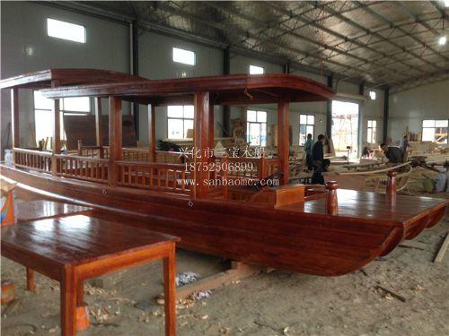 木船 木船厂家 高低篷观光船