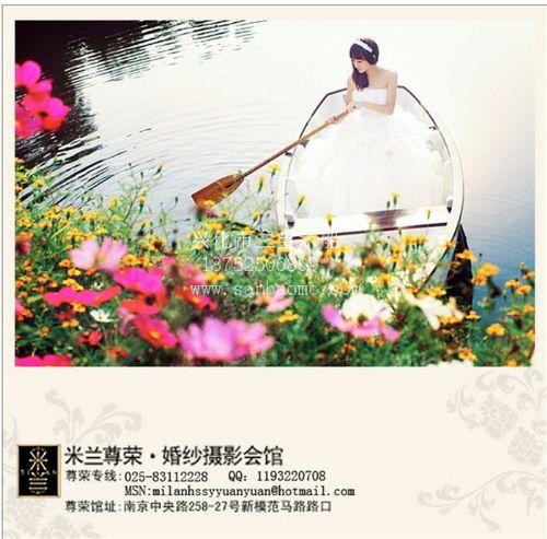 欧式木船 南京米兰婚纱摄影船