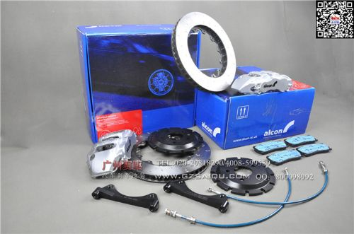 刹车改装英国顶级ALCON CAR97六活塞刹车套件